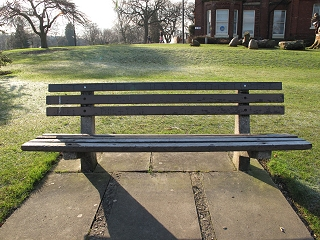 Bowling Green bench before