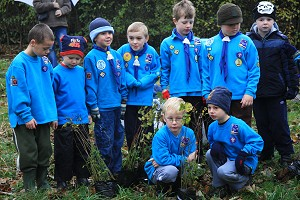 Beavers shiver for the Stockport Express