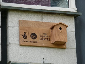 New BBC Breathing Places plaque