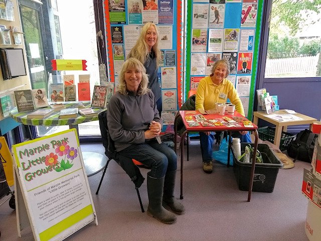 Little Growers moves inside Marple Library