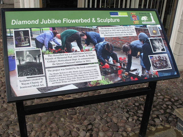 Diamond Jubilee Display Panel