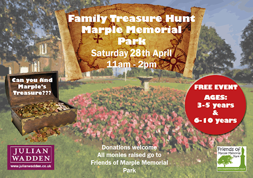 Treasure Hunt in Memorial Park